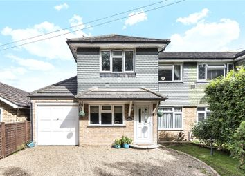 Thumbnail 3 bed semi-detached house for sale in Ongar Road, Addlestone, Surrey