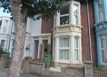 Thumbnail 5 bed terraced house to rent in Gains Road, Southsea