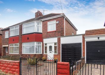 Thumbnail 3 bed semi-detached house for sale in Ashbourne Avenue, Walker, Newcastle Upon Tyne