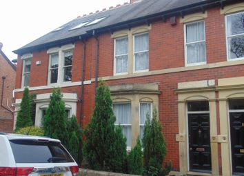 Thumbnail 4 bed terraced house to rent in Albury Road, Jesmond, Jesmond, Tyne And Wear