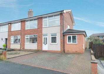 Thumbnail 3 bed semi-detached house for sale in New Heys Way, Harwood, Bolton, Lancashire