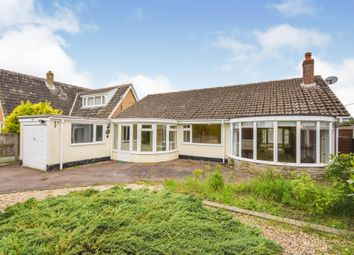 Thumbnail 3 bed detached bungalow for sale in Hargham Road, Attleborough