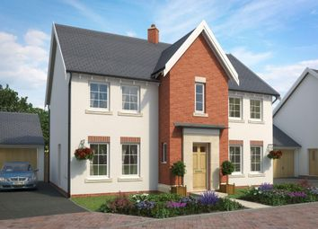 "Thumbnail 4 bedroom detached house for sale in ""Oakhampton 2"" at The Green, Chilpark, Fremington, Barnstaple"