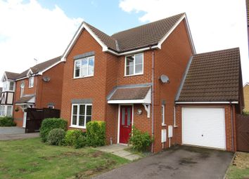 Thumbnail 4 bedroom detached house for sale in Daimler Avenue, Yaxley, Peterborough