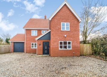 Thumbnail 5 bed detached house for sale in St Peters Close, Rockland St. Peter, Attleborough