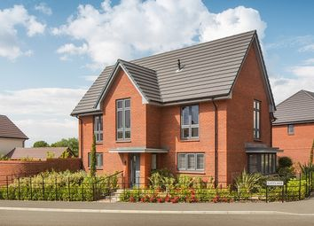 """Thumbnail 4 bed property for sale in """"Genoa"""" at William Morris Way, Tadpole Garden Village, Swindon"""