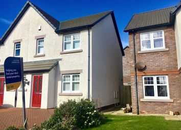 Thumbnail 3 bed semi-detached house to rent in Lingla Gardens, Frizington