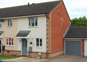 Thumbnail 2 bed end terrace house to rent in Gatekeeper Close, Pinewood, Ipswich