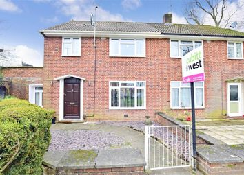 Thumbnail 3 bed semi-detached house for sale in Buckmans Road, West Green, Crawley, West Sussex