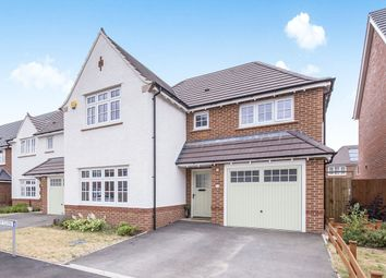 Thumbnail 4 bed detached house to rent in Rieth Close, Hinckley