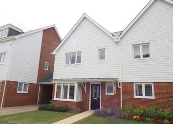 Thumbnail 3 bed semi-detached house for sale in Higham Avenue, Snodland