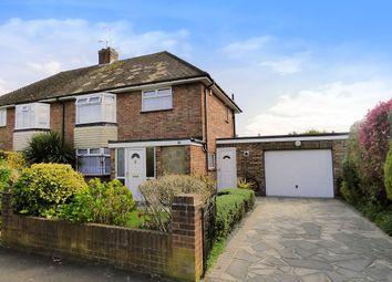 Thumbnail 3 bed semi-detached house for sale in Roundstone Crescent, East Preston, Littlehampton