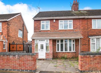 Thumbnail 3 bed semi-detached house for sale in Wyvern Avenue, Leicester