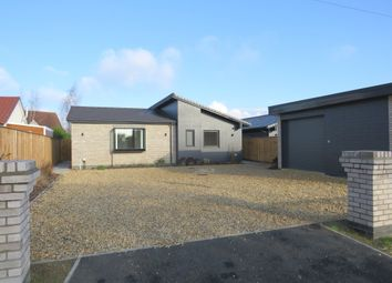 Thumbnail 3 bed detached bungalow for sale in Bunwell Street, Bunwell, Norwich