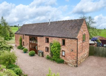 Thumbnail 4 bed barn conversion for sale in Boreley Lane, Ombersley, Droitwich