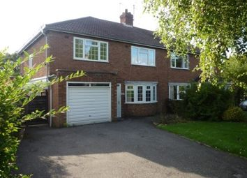 Thumbnail 4 bed semi-detached house to rent in Montrose Avenue, Leamington Spa