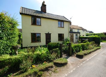 Thumbnail 3 bed cottage for sale in Bury Road, Wortham, Diss