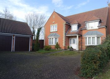 Thumbnail 5 bed detached house for sale in Murdoch Close, Farnsfield, Newark