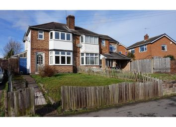 Thumbnail 2 bed semi-detached house for sale in Groby Road, Anstey