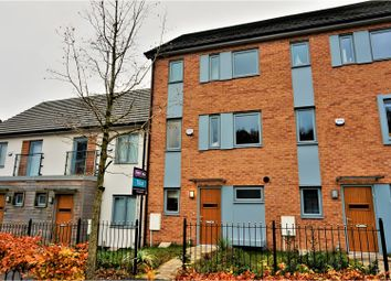 Thumbnail 4 bedroom town house to rent in Christie Lane, Salford