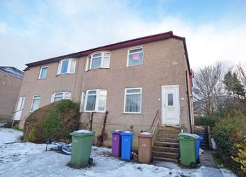 Thumbnail 2 bed flat for sale in Newcroft Drive, Croftfoot, Glasgow