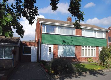 Thumbnail 3 bed semi-detached house to rent in Hillhead Parkway, Chapel House, Newcastle Upon Tyne