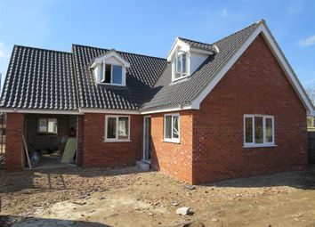 Thumbnail 4 bed bungalow for sale in Knights Way, Aylsham, Norwich