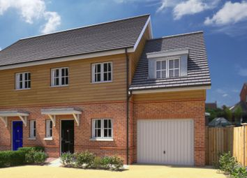 Thumbnail 3 bed detached house for sale in Cromwell Road, Newbury