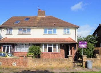 Thumbnail 3 bed semi-detached house to rent in Violet Avenue, Uxbridge