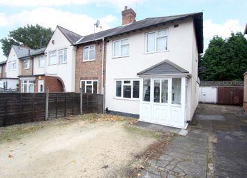 Thumbnail 3 bedroom end terrace house for sale in Tavistock Road, Birmingham