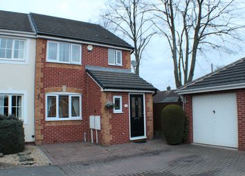 Thumbnail 3 bed semi-detached house for sale in Viyella Mews, Hucknall, Nottingham