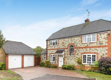 Thumbnail 4 bed detached house for sale in Goldsmith Close, Wokingham
