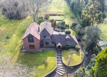 Thumbnail 5 bed detached house for sale in Biddenfield Lane, Wickham, Fareham