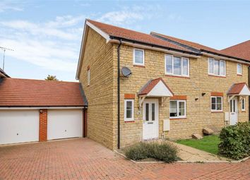 Thumbnail 3 bedroom semi-detached house for sale in Lapwing Lane, Watchfield, Oxfordshire