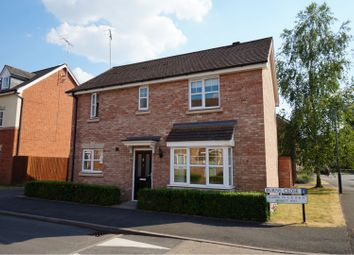 Thumbnail 3 bed detached house for sale in Burns Close, Stratford-Upon-Avon