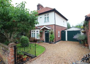 Thumbnail 3 bed semi-detached house for sale in Elm Grove Lane, Norwich