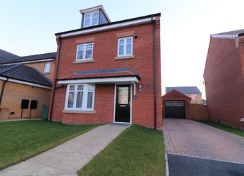Thumbnail 4 bedroom detached house for sale in Flarepath Close, Snaith, Goole