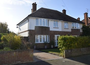 Thumbnail 3 bed semi-detached house for sale in Fairfield Avenue, Felixstowe