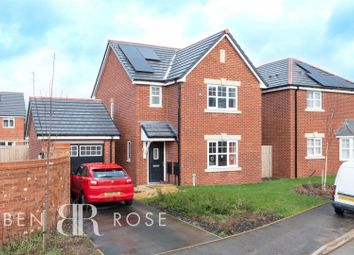 Thumbnail 3 bed detached house for sale in Stansfield Drive, Euxton, Chorley