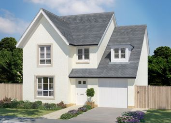 "Thumbnail 4 bed detached house for sale in ""Drummond"" at Corseduick Road, Newmachar, Aberdeen"