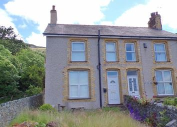 Thumbnail 2 bed semi-detached house for sale in Rock Villa Road, Penmaenmawr, Conwy, North Wales