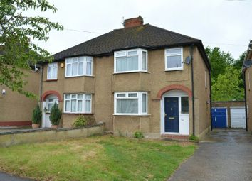 Thumbnail 3 bedroom semi-detached house for sale in Devon Way, Chessington