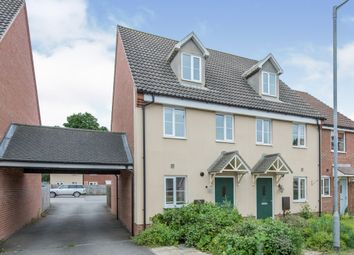Thumbnail 3 bed end terrace house for sale in Carbrooke, Thetford, Norfolk
