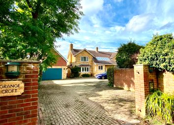 Thumbnail 5 bed detached house for sale in Grange Lane, Hartley Wintney, Hook