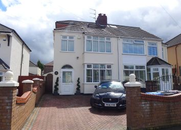 Thumbnail 4 bed semi-detached house for sale in Campbell Drive, Knotty Ash, Liverpool