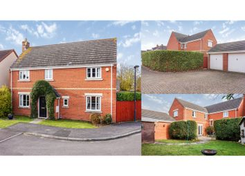Thumbnail 5 bed detached house for sale in Hatch Road, Swindon