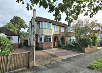 Thumbnail 3 bed semi-detached house for sale in Hollies Avenue, West Byfleet