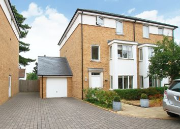 Thumbnail 4 bed town house for sale in Invicta Close, Canterbury