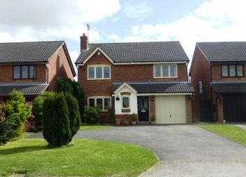 Thumbnail 4 bed detached house to rent in Watery Lane, Scropton, Derbyshire