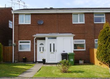 Thumbnail 2 bed flat for sale in Hastings Court, Bedlington